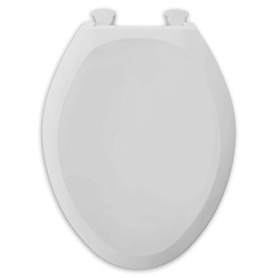 Champion Slow Close Front Round Toilet Seat Finish: White