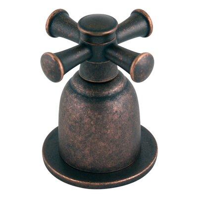 Portsmouth Centerset Bathroom Faucet with Double Cross Handles Finish: Oil Rubbed Bronze