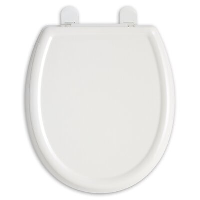Cadet 3 Slow Close Round Toilet Seat Finish: White