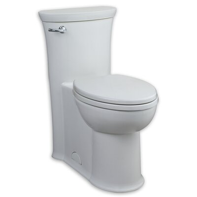 Tropic FloWise RH 1.28 GPF Elongated One-Piece Toilet Finish: White