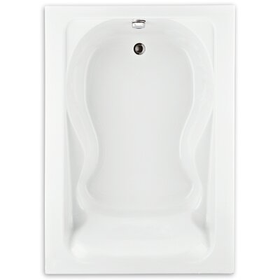 Cadet 60 x 42 Soaking Bathtub Finish: White