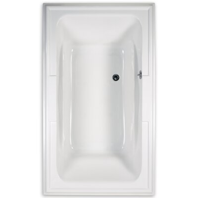 Town Square 71.5 x 42Soaking Bathtub Finish: White