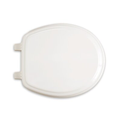 EverClean Round Toilet Seat and Cover Finish: White