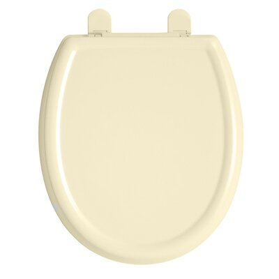 Cadet 3 Slow Close Round Toilet Seat Finish: Bone