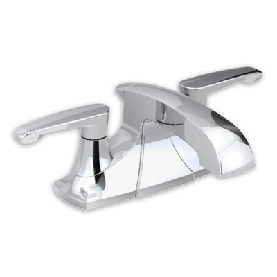 Copeland Centerset Bathroom Sink Faucet with Double Lever Handles Finish: Polished Chrome