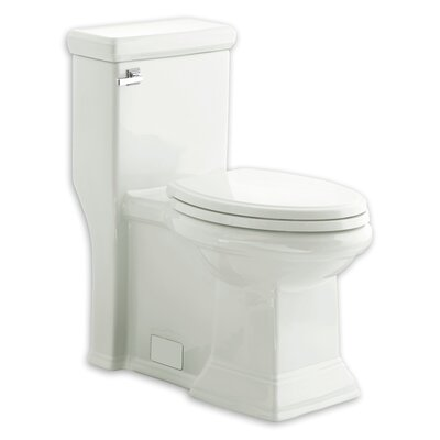 Town Square Flowise RH 1.28 GPF Elongated One-Piece Toilet Finish: White