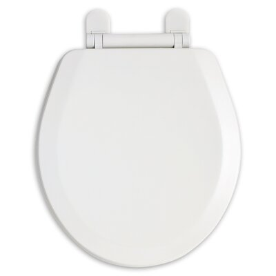 EverClean Antimicrobial Elongated Toilet Seat Finish: White