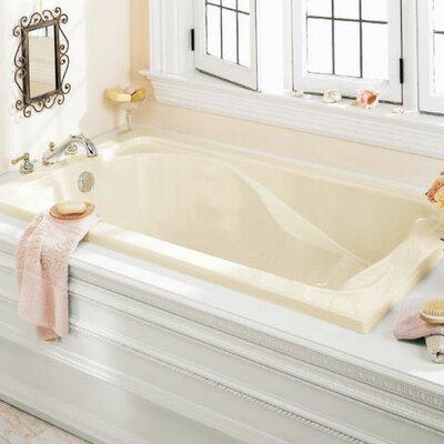Cadet 72 x 42 Soaking Bathtub Finish: Linen