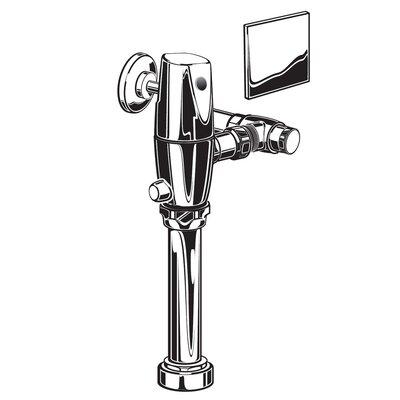 Exposed 1.28 GPF AC Toilet Flush Valve