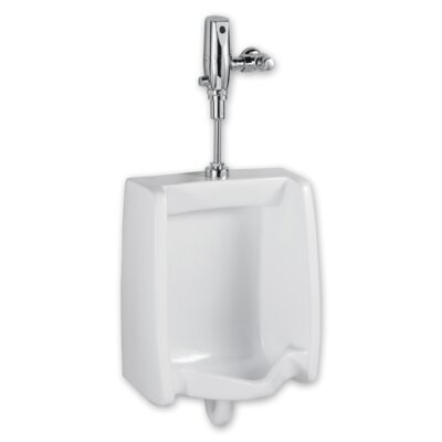 Selectronic Washbrook Urinal with Flush Valve