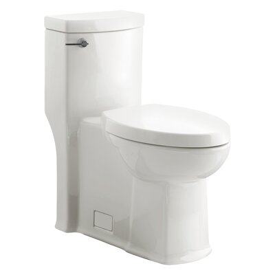 Boulevard Flowise Right Height 1.28 GPF Elongated One-Piece Toilet Finish: White