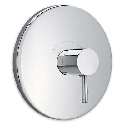 Serin Central Thermostatic Shower Faucet Trim Kit Finish: Polished Chrome
