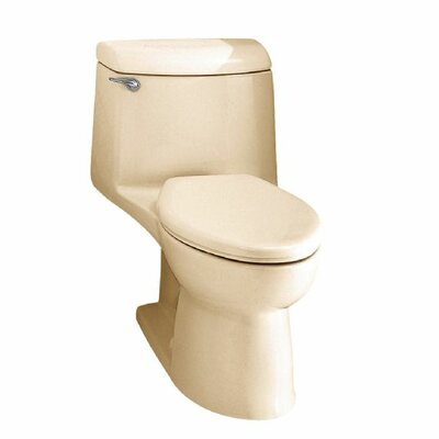 Champion 1.6 GPF Elongated One-Piece Toilet Finish: Bone