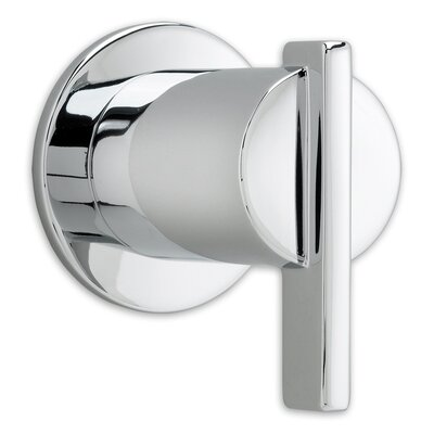 Berwick On/Off Volume Control Shower Faucet Trim with Lever Handle Finish: Polished Chrome