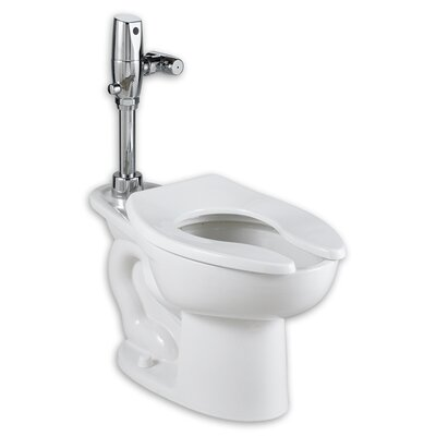 Madera Ada Selectronic Everclean Flush Valve 1.1 GPF Elongated One-Piece Toilet