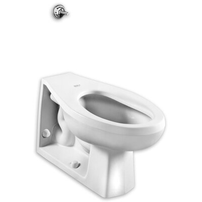 Elongated 1.28 GPF Elongated Toilet Bowl