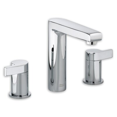 Studio 2 Handle Widespread Bathroom Faucet Finish: Polished Chrome