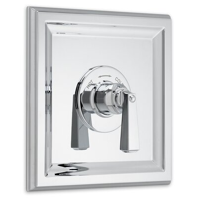 Town Square Central Thermostatic Shower Faucet Trim Kit Finish: Polished Chrome