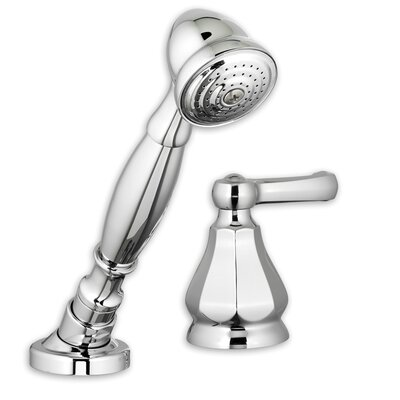 Dazzle Diverter Hand Shower Faucet Trim Kit Finish: Polished Chrome