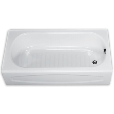 New Salem 60 x 30 Bathtub Drain Location: Left
