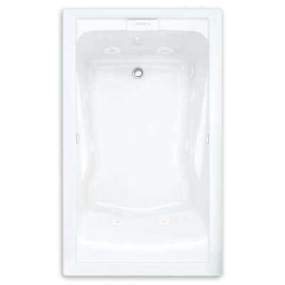 Evolution 62.56 x 38.56 Everclean Bathtub