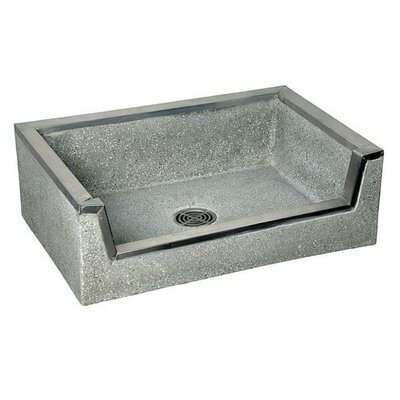 Fiat Terrazzo Rectangular Vessel Bathroom Sink