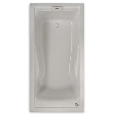 Evolution 74.75 x 38.5 Everclean Air Bathtub