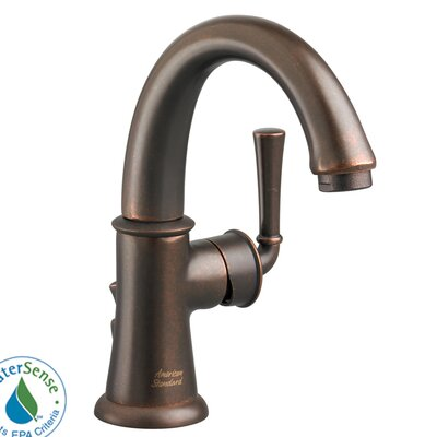 Portsmouth Single Hole Bathroom Faucet with Single Handle Finish: Oil Rubbed Bronze