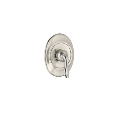 Princeton Shower Valve Trim Kit With Lever Handle Finish: Satin Nickel (PVD)