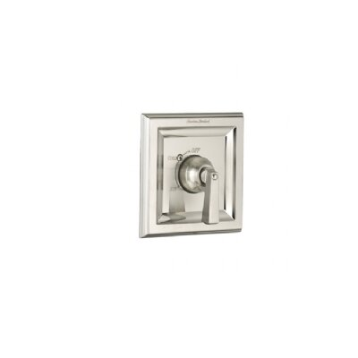 Town Square Shower Valve Trim Kit With Metal Lever Handle & EverClean Finish: Satin Nickel (PVD)