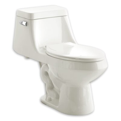 One 1.6 GPF Elongated One-Piece Toilet