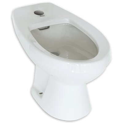 Cadet Floor Mount Bidet Finish: White