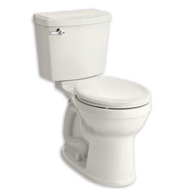 Champion 1.28 GPF Round Two-Piece Toilet Finish: White