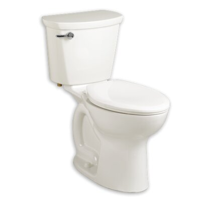 Cadet 1.28 GPF Elongated Two-Piece Toilet Finish: Black