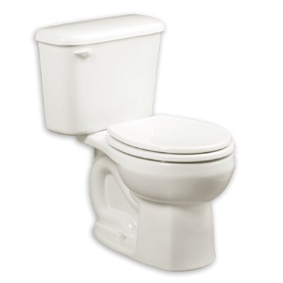 Colony 1.28 GPF Round Two-Piece Toilet Finish: White