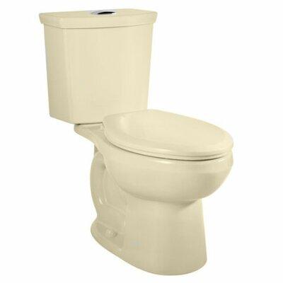 H2Option Dual Flush Elongated Two-Piece Toilet Finish: bone
