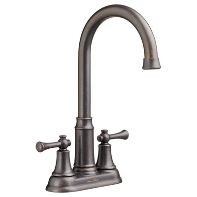 Portsmouth Centerset Bathroom Faucet Lever Handle Finish: Oil Rubbed Bronze