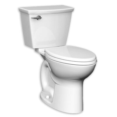Cadet 1.28 GPF Elongated Two-Piece Toilet Finish: White