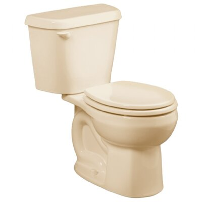 Colony 1.6 GPF Round Two-Piece Toilet Finish: Bone, Seat Type: Elongated