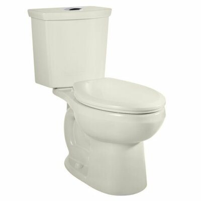 H2Option Dual Flush Elongated Two-Piece Toilet Finish: linen