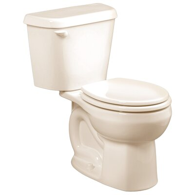 Colony 1.6 GPF Round Two-Piece Toilet Finish: Linen, Seat Type: Elongated