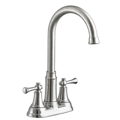 Portsmouth Bar Sink Faucet Double Handle Finish: Stainless Steel