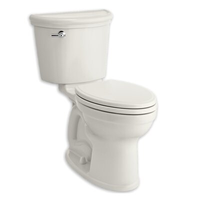 Champion 1.28 GPF Elongated Two-Piece Toilet Finish: White