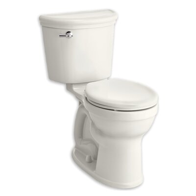 Champion 1.28 GPF Round Two-Piece Toilet Finish: White