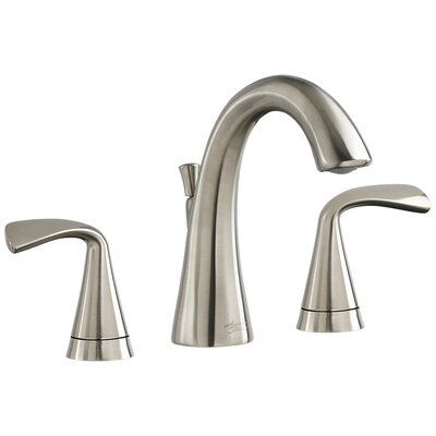 Fluent Widespread Bathroom Faucet Double Handle Finish: Satin