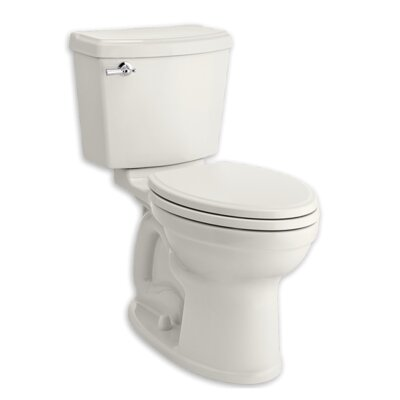 Champion Portsmouth 1.28 GPF Elongated Two-Piece Toilet Finish: White