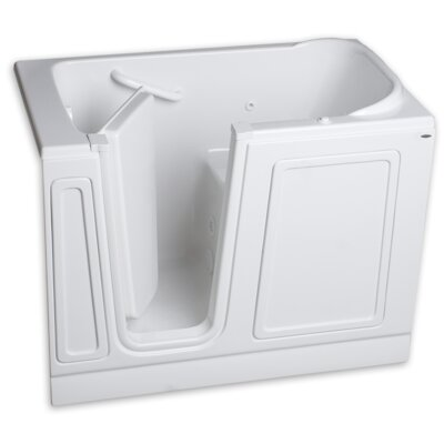48 x 50 Walk-In Left Hand Whirpool Finish: White