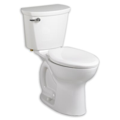 Cadet 1.6 GPF Elongated Two-Piece Toilet Finish: White