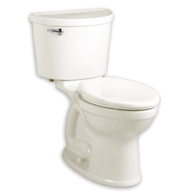 Champion 1.6 GPF Elongated Two-Piece Toilet Finish: White