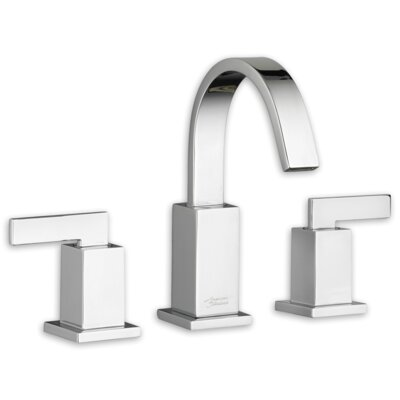 Times Square Standard Bathroom Faucet Lever with Drain Assembly Finish: Chrome